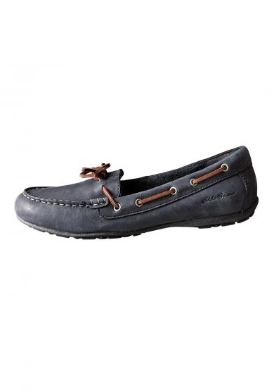 Leather Moc Slipper Damen