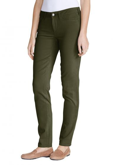 Elysian Twillhose - Slim Straight Leg - Slightly Curvy Damen