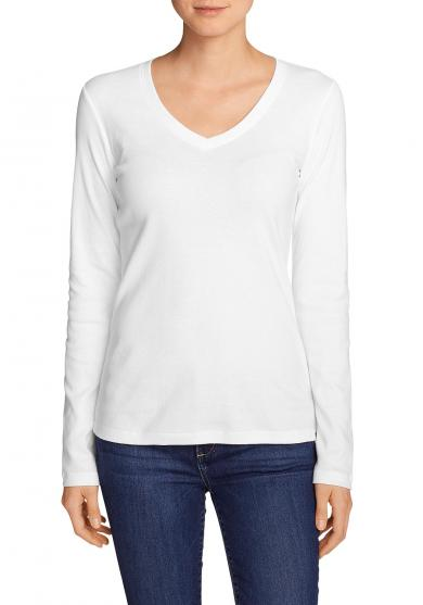 Favorite Shirt - Langarm mit V-Ausschnit
