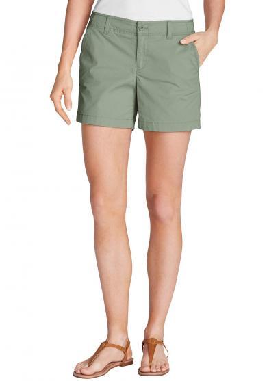 Popeline Shorts - uni Damen
