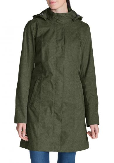 Girl on the Go Trenchcoat - Isoliert Damen