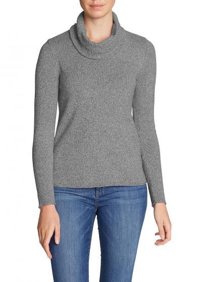 Pullover mit Wasserfallausschnitt Damen