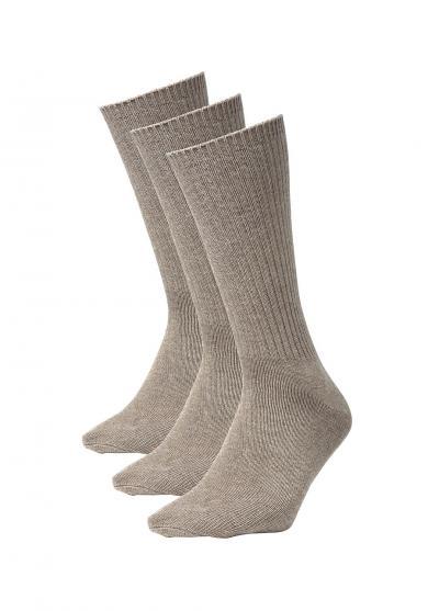 Socken - 3 Paar - uni