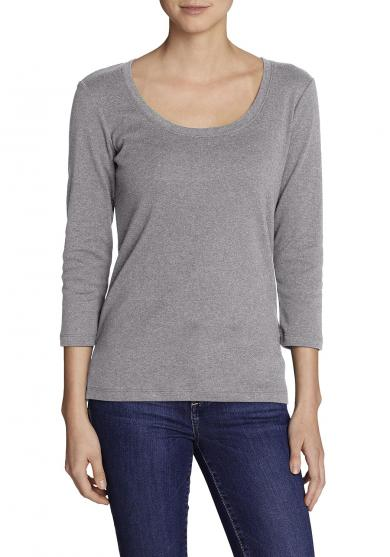 Favorite Shirt - 3/4-Arm mit Rundhalsausschnitt