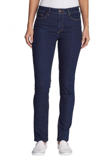 Stayshape Jeans - Slim Straight Leg - High Rise - Slightly Curvy