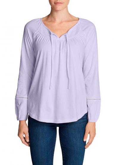 Willow Shirt mit Langarm - Gesmokt Damen