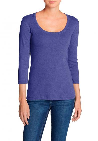 Favorite Shirt - 3/4-Arm mit Rundhalsausschnitt Damen