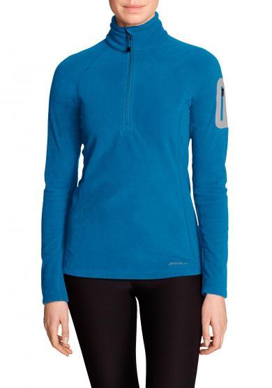 Cloud Layer® Pro Fleeceshirt mit 1/4-Reissverschluss Damen