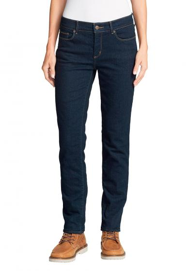 Stayshape Slim Straight Jeans - Fleecegefüttert Damen