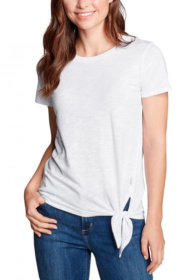 Gate Check Shirt - Kurzarm mit Knotendetail