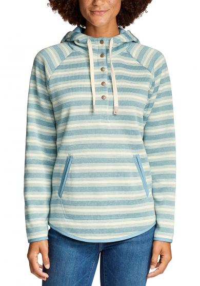 Radiator Strickfleece Pullover - geringelt Damen