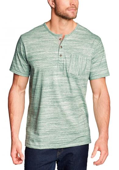 Legend Wash Pro Henley - Kurzarm - Spacedye Herren
