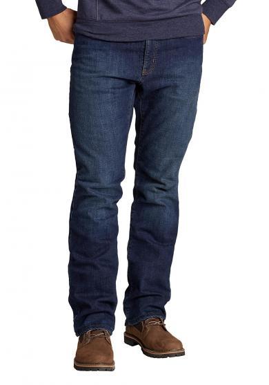 Flex Jeans mit Fleecefutter - Straight Fit Herren