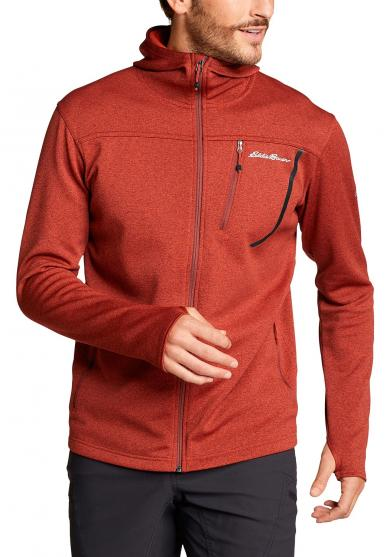 High Route 2.0 Fleecejacke mit Kapuze