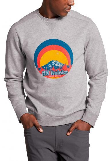 Camp Fleece Sweatshirt - Ranier Vibes Herren