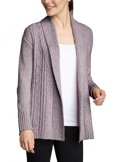 Cable Sleepwear Cardigan Damen