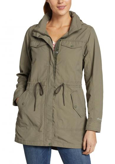Atlas Utility Trenchcoat Damen