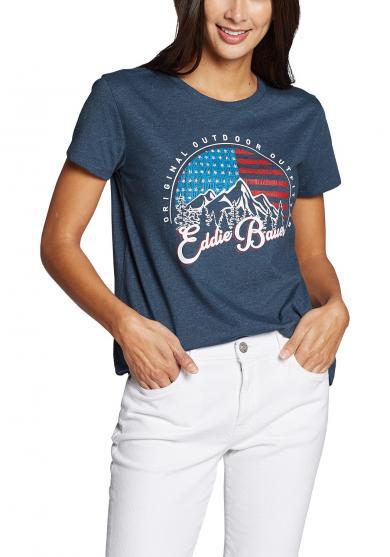Graphic T-Shirt - EB SKY Damen