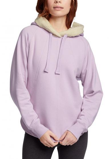 Snow Lodge Sweatshirt mit Plüschfutter Damen