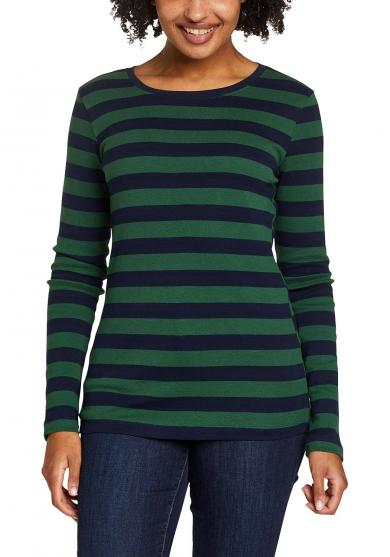 Favorite Shirt - Langarm mit Rundhalsausschnitt - geringelt Damen