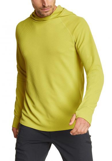 Thermal Tech Shirt mit Kapuze Herren