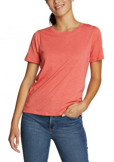 Gate Check T-Shirt mit längerem Arm Damen