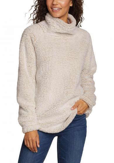 Fireside Rollkragen Sweatshirt Damen