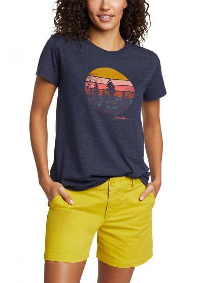 T-Shirt - Outdoor Mountain Damen
