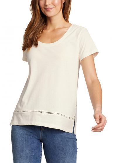 Myriad T-Shirt mit Lochspitze Damen