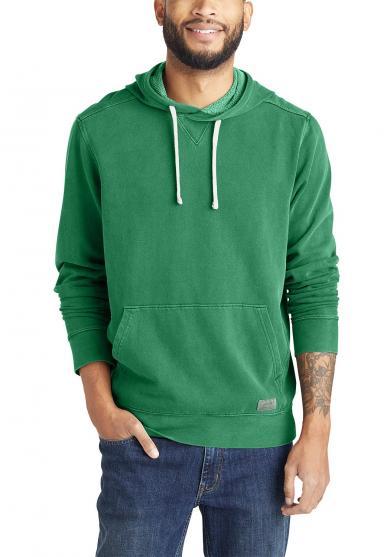 Camp Fleece Sweatshirt mit Kapuze - Garment Dye Herren