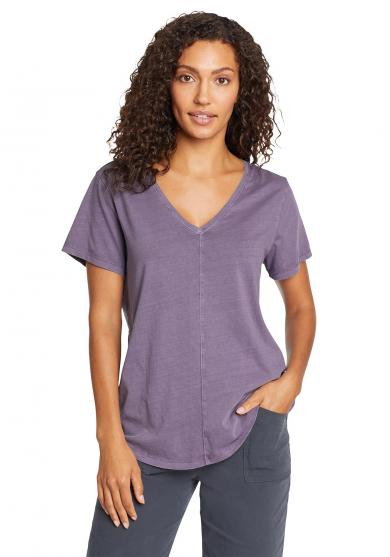 Ophelia T-Shirt - V-Ausschnitt Damen