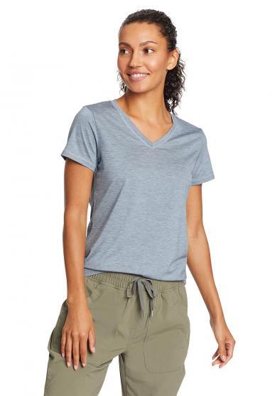 Resolution Guide T-Shirt mit V-Ausschnitt Damen