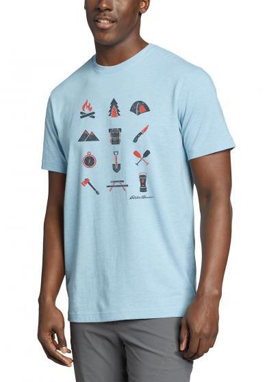 Graphic T-Shirt Camp Icon Herren