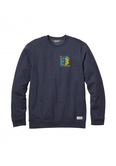 Camp Fleece Sweatshirt - gemustert Herren